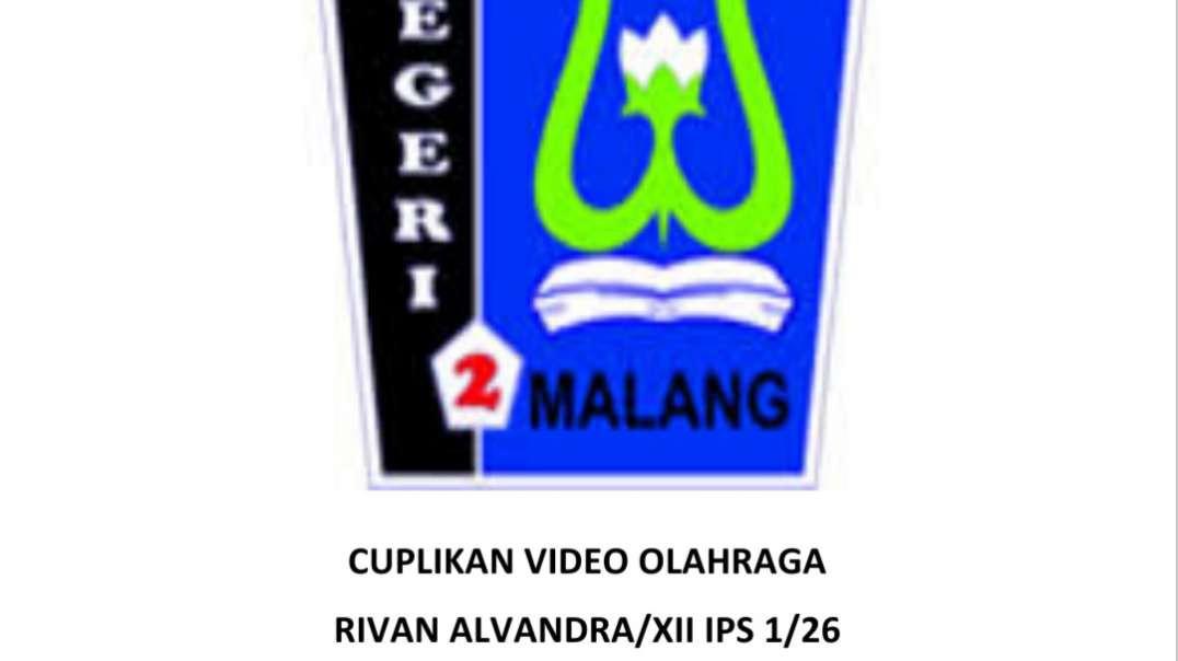 Cuplikan video lari 2.4km_Rivan alvandra_XII IPS I