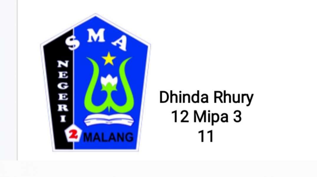Cuplikan lari 2,4 km_Dhinda Rhury_12 Mipa 3