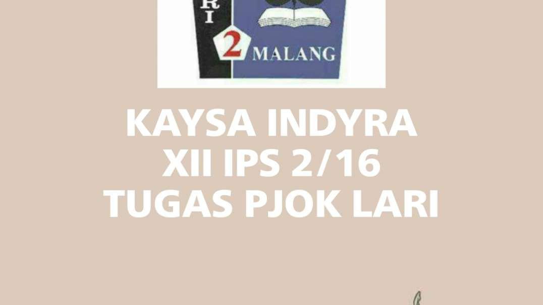 Cuplikan lari 2,4 km_Kaysa Indyra XII IPS 2