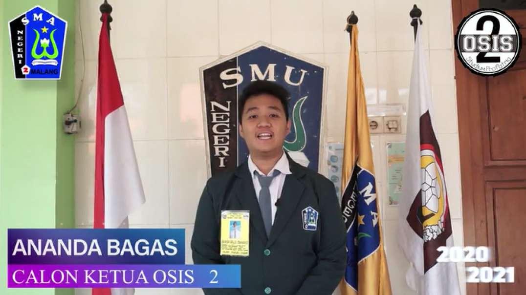 Kandidat 2 Ketua OSIS Tahun 2020